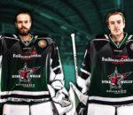 Lukas Steinhauer (links) und Luca Endres starten mit den Starbulls in die neue Saison.
