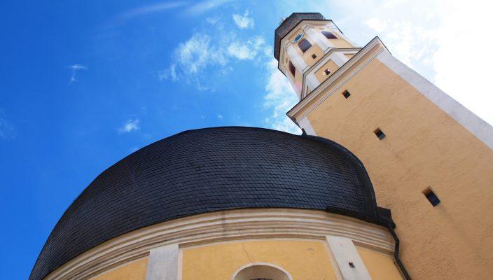Die barocke Westerndorfer Rundkirche wurde ein ganzes Jahr lang gefeiert. Foto: aez